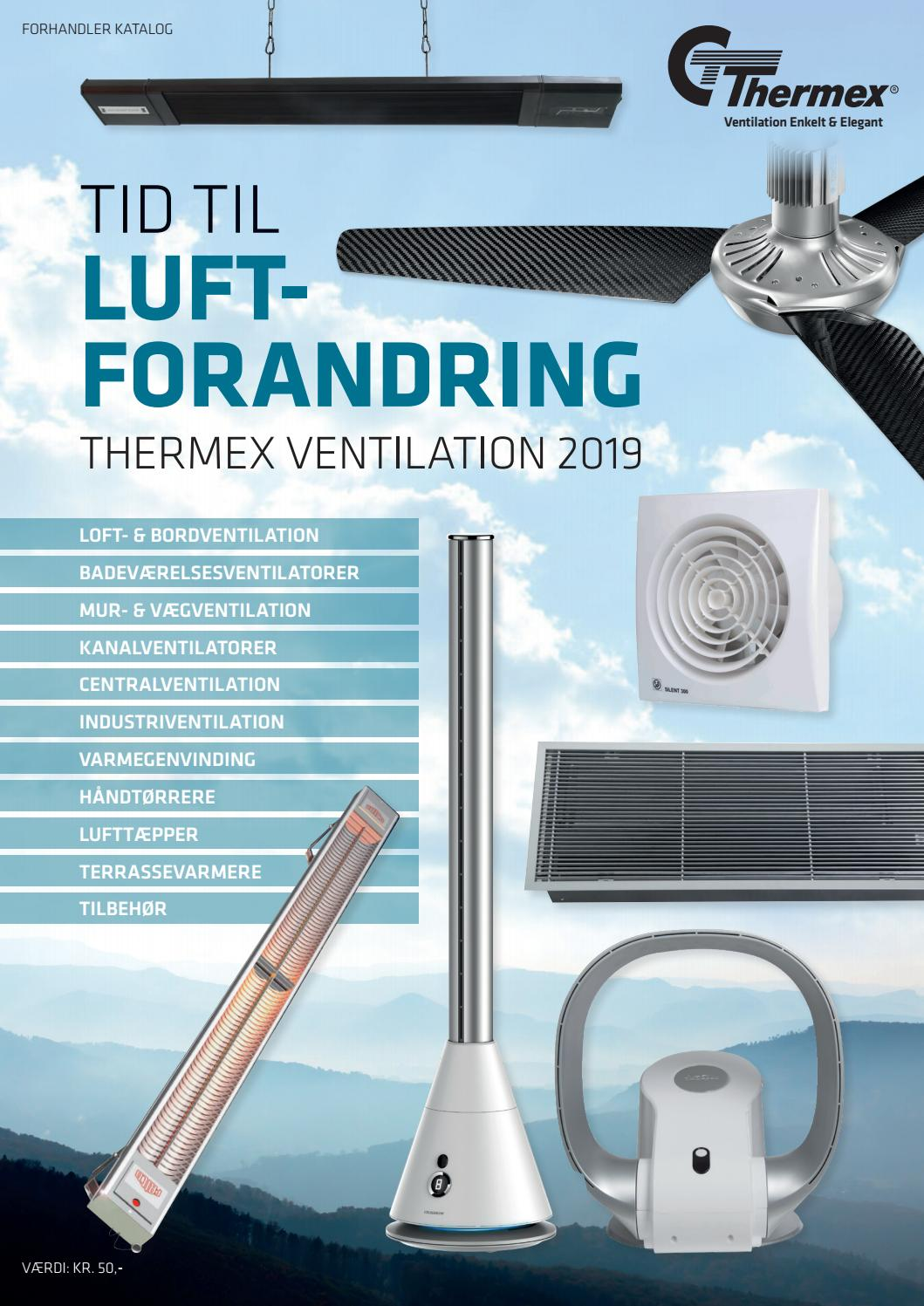 Picture of: Thermex Luftforandring 2019 2020 Danish By Thermex Scandinavia Issuu