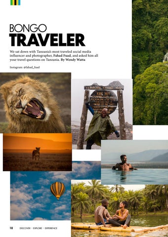 Page 20 of BONGO TRAVELLER
