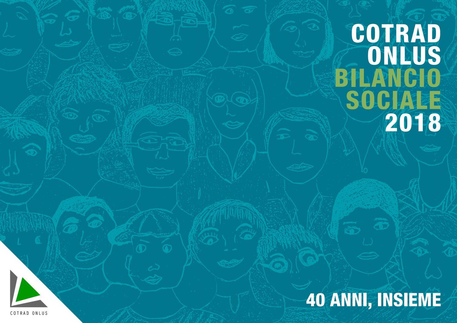 Bilancio Sociale Cotrad 2018 By Rueto Gc Issuu