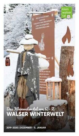 Walser Info Welt by Kleinwalsertal Tourismus eGen issuu