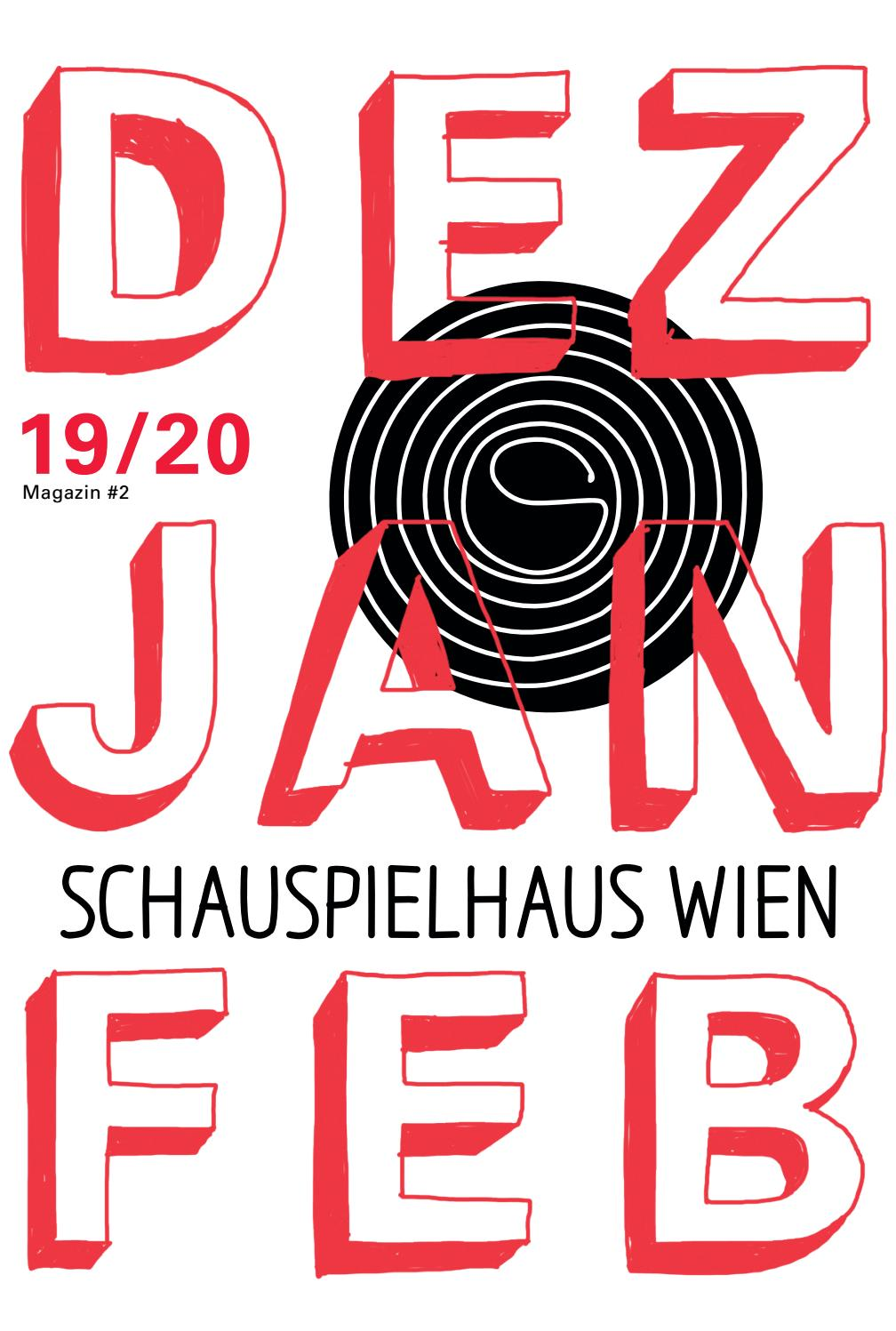 Schauspielhaus Wien Magazin Dezember Januar Februar 2019