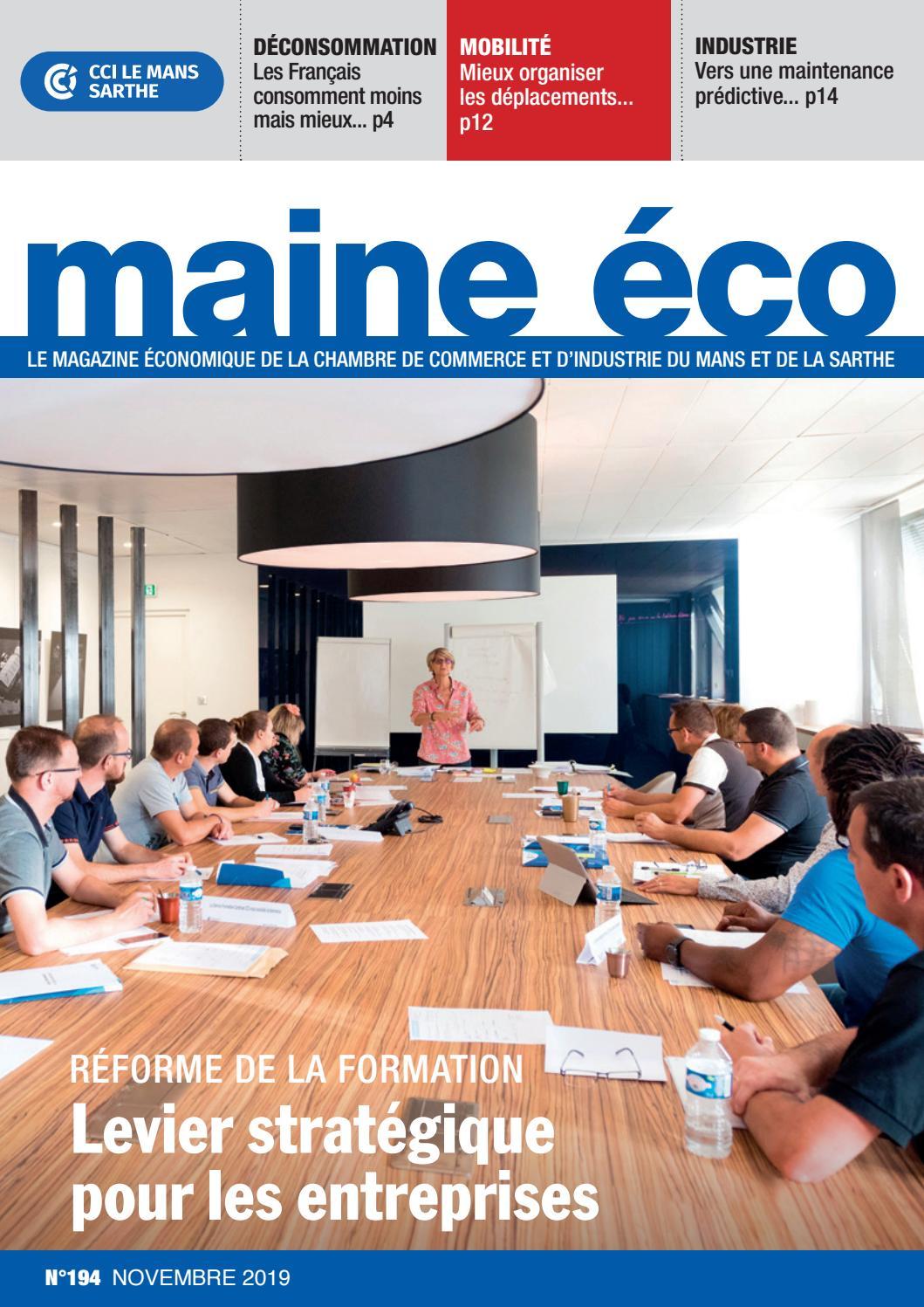 Maine éco N 194 Novembre 2019 By Frédéric Renault Issuu