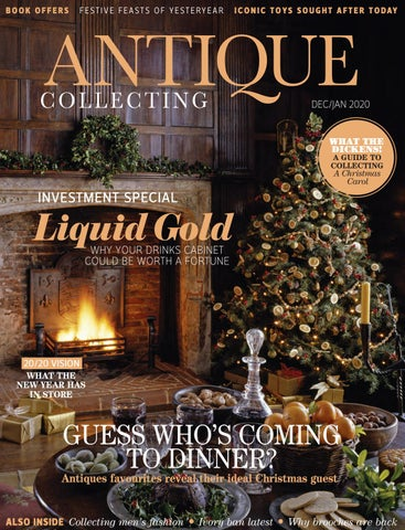 Antique Collecting Magazine December