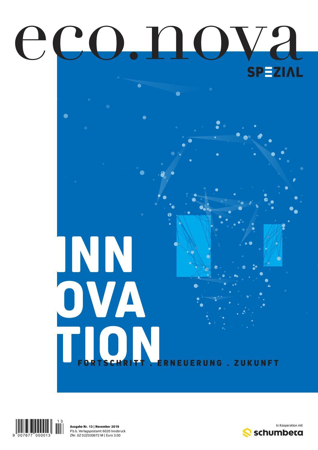 eco.nova SPEZIAL Innovativ Herbst 2019 by eco.nova verlags