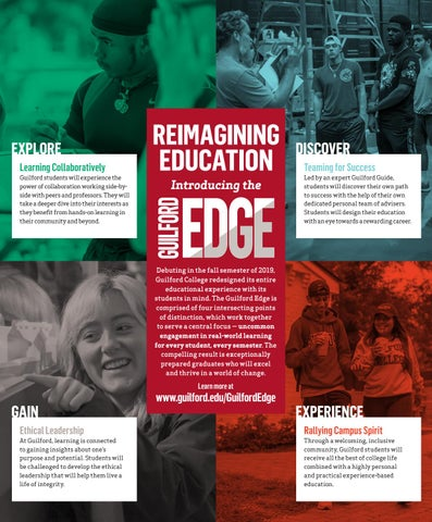 Page 14 of REIMAGINING EDUCATION: INTRODUCING THE GUILFORD EDGE