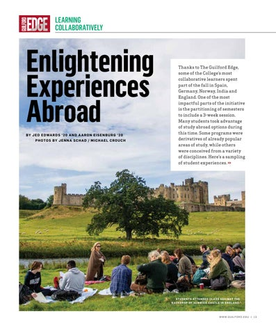 Page 15 of ENLIGHTENING EXPERIENCES ABROAD