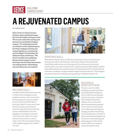 Page 20 of A REJUVENATED CAMPUS