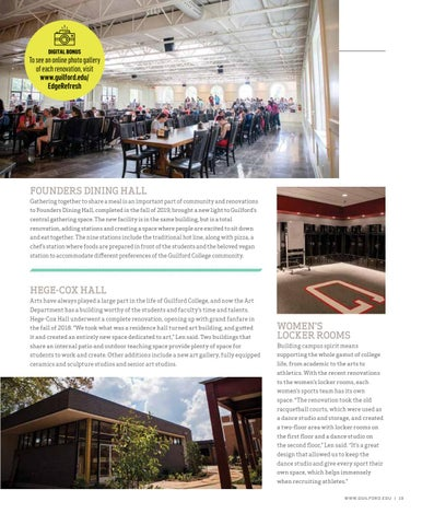 Page 21 of A REJUVENATED CAMPUS