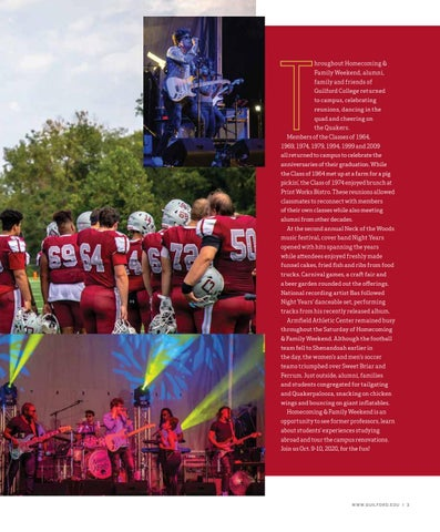 Page 5 of HOMECOMING & FAMILY WEEKEND