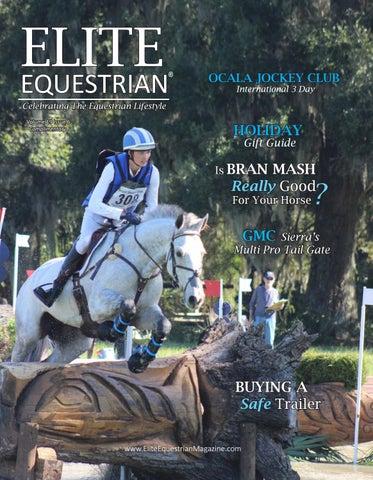 Elite Equestrian Magazine 2019 Nov Dec Holiday Gift Guide