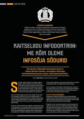 Page 18 of Kaitseliidu infodoktriin: me kõik oleme infosõja sõdurid