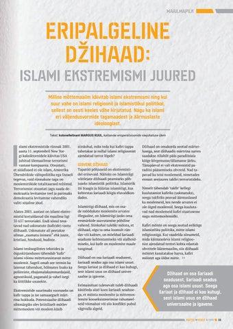Page 33 of Eripalgeline džihaad: islami ekstremismi juured