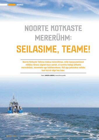 Page 74 of Noorte Kotkaste mererühm: Seilasime, teame!
