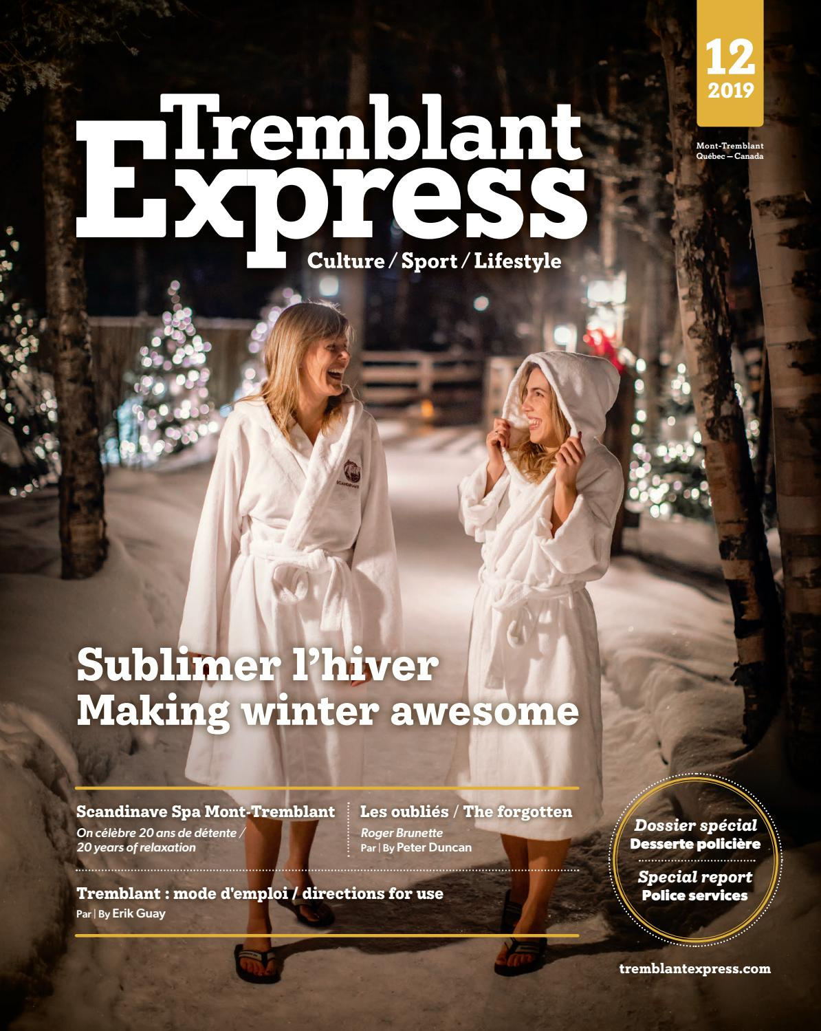 Tremblant Express décembre 2019 by Tremblant Express issuu