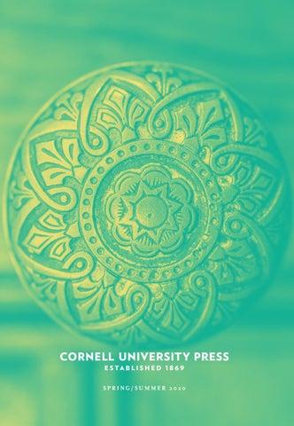 Cornell University Press Spring Summer 2020 Catalog By