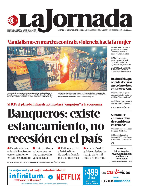 La Jornada 11 26 2019 By La Jornada Issuu