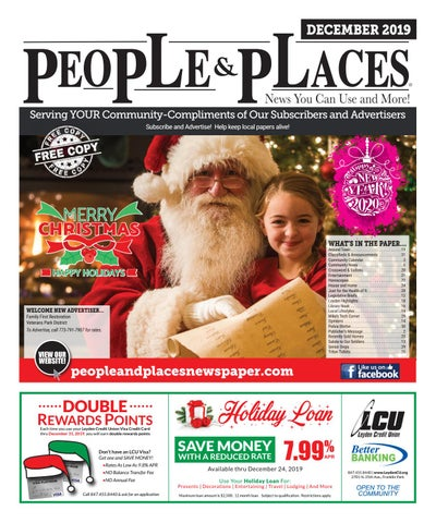 December 2019 People Places Newspaper By Jennifer Creative Issuu
