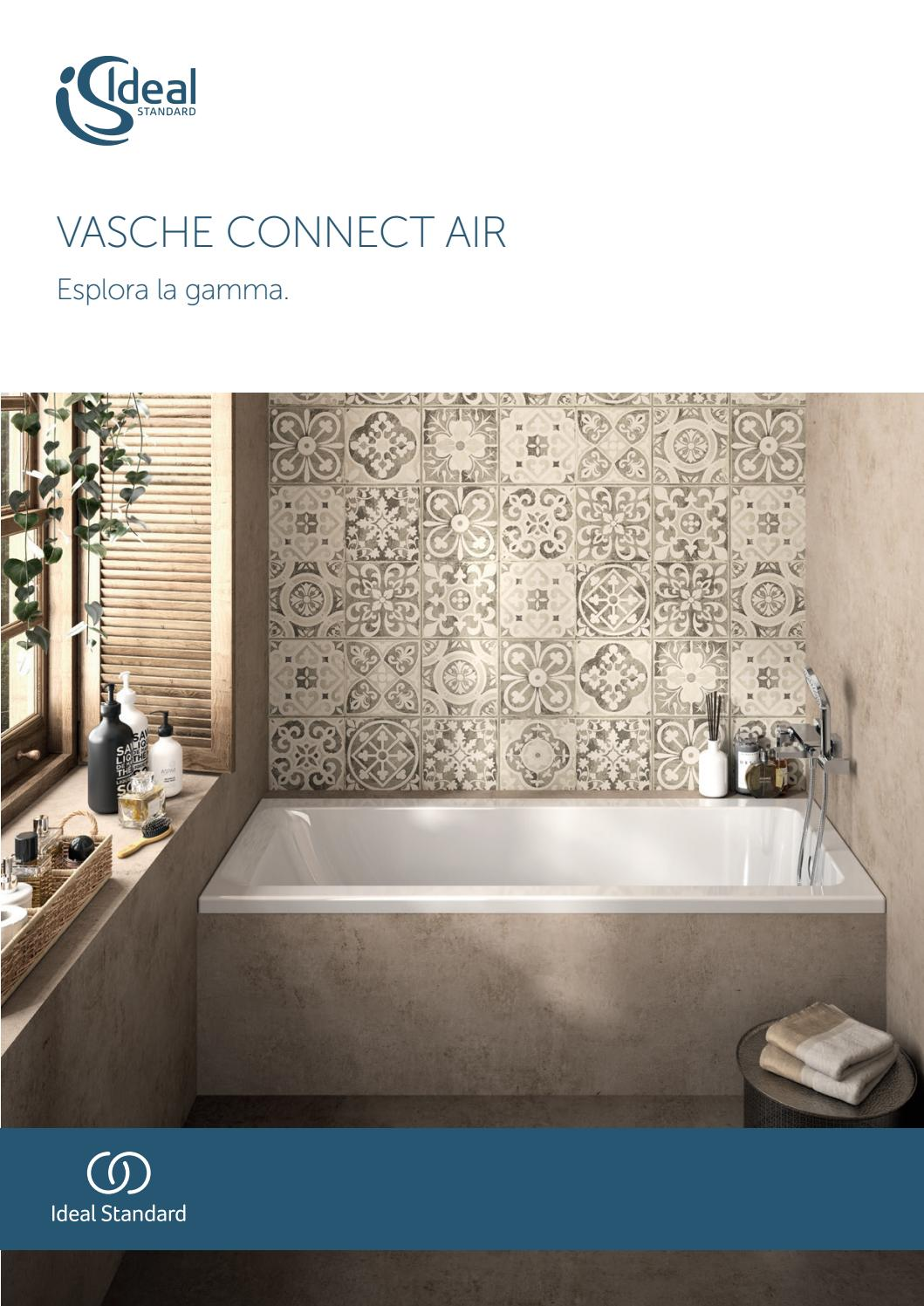 Vasca Da Bagno Misure Standard connect air vasche da bagno ideal standard :: jo-bagno.it by