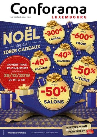 Doc06 Un Noël Spécial Idées Cadeaux By Conforama Luxembourg