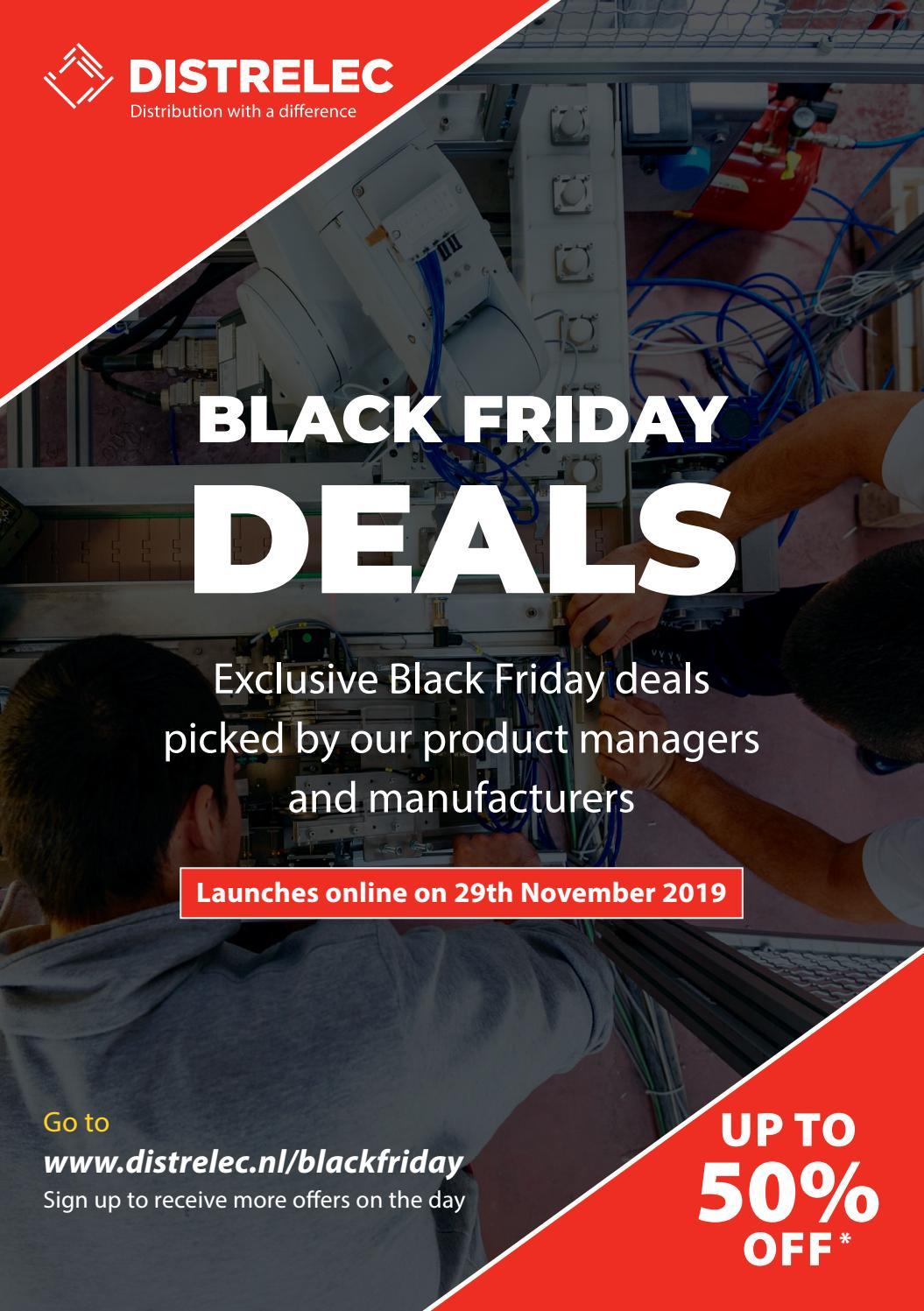 Black Friday Event 2019 By Distrelec Marketing Issuu