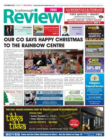 Scarborough Review December 2019 By Your Local Link Ltd Issuu
