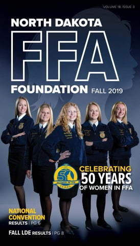 nd ffa foundation fall 2019 newsletter by nd ffa issuu nd ffa foundation fall 2019 newsletter