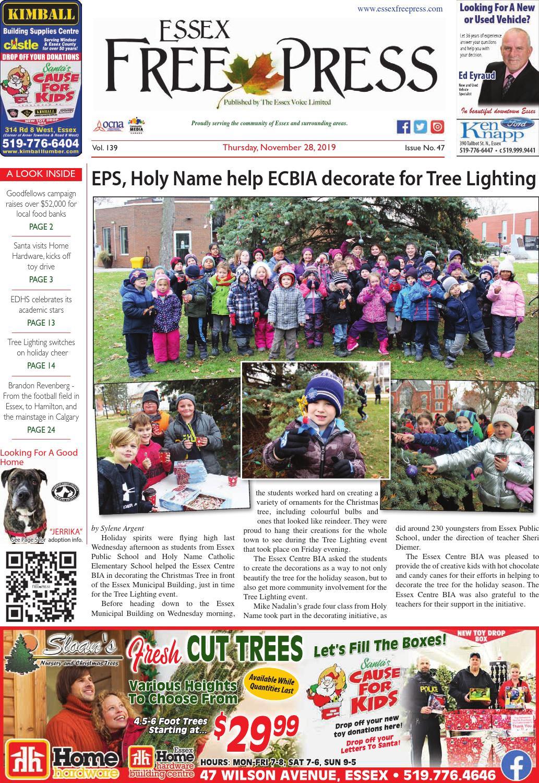 Essex Free Press November 28 2019 By Essex Free Press Issuu