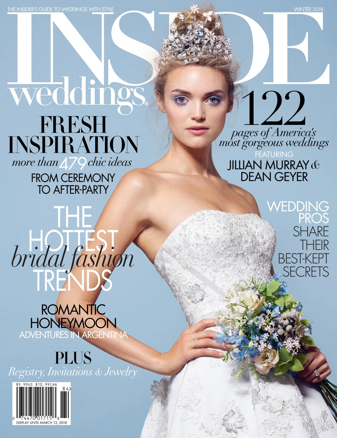 Inside Weddings Winter 2018 By Inside Weddings Issuu