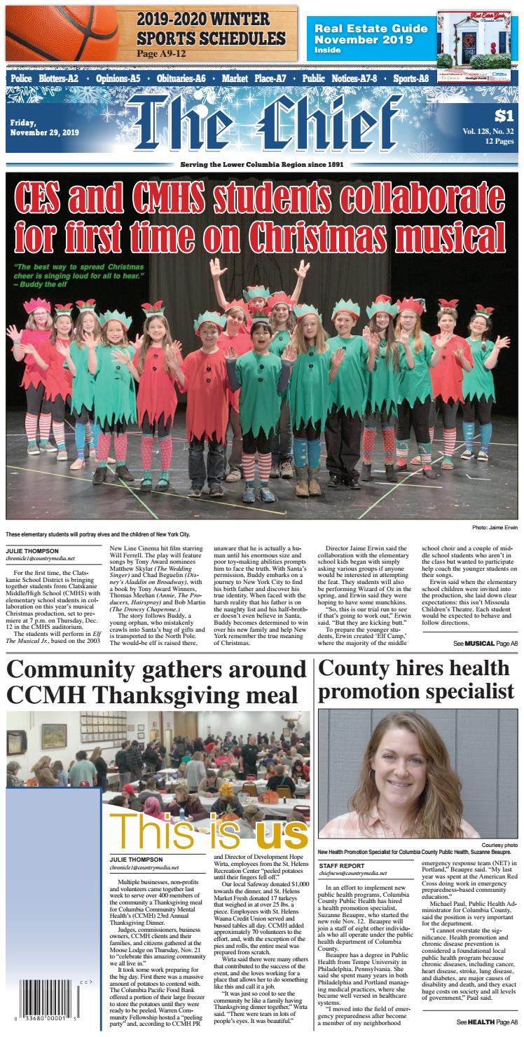 Christmas Sing Along At Lien Elementary School In 2020 TCC112919 by C.M.I.   issuu
