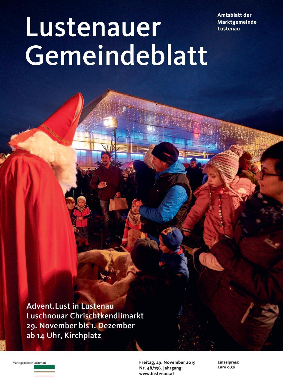 Gemeindeblatt 48 2019 by Marktgemeinde Lustenau issuu
