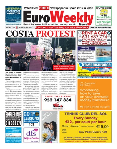 Euro Weekly News Costa Del Sol 28 November 4 December