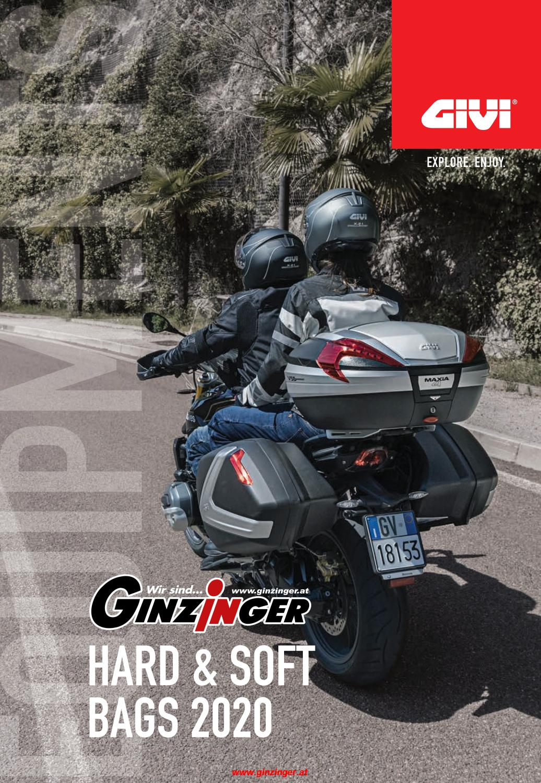 T502 GIVI MOTO BORSA INTERNA NERA X BAULE VALIGIE E470 E450 SIMPLY III II 2 3