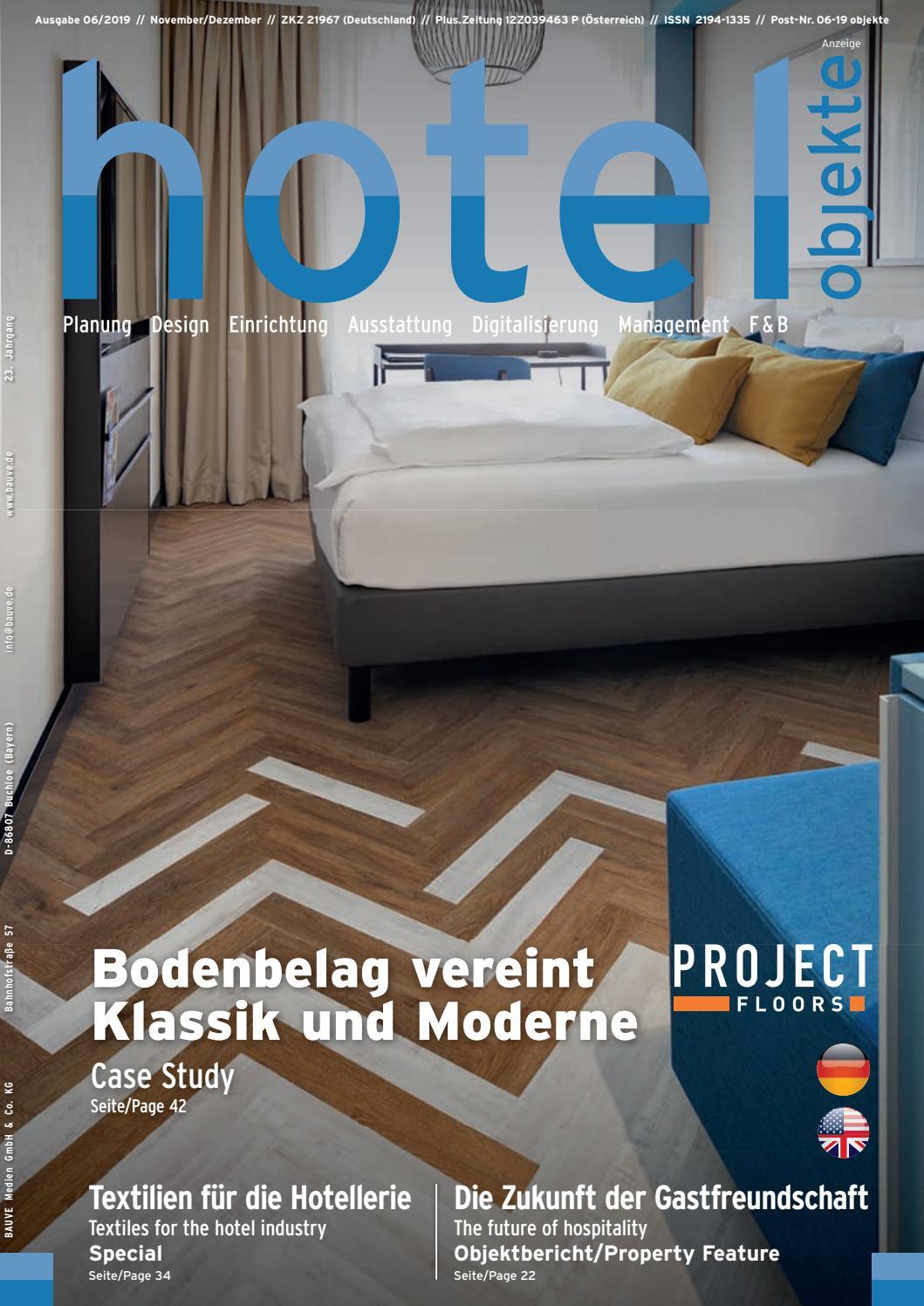 Hotel Objekte 06 2019 By Bauve Medien Gmbh Co Kg Issuu