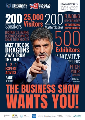 The Business Show November 2019 By Prysm Group Issuu