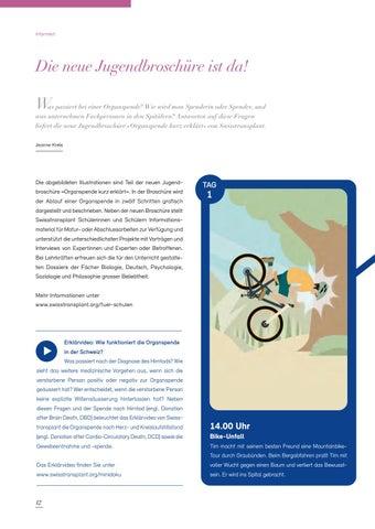 Page 12 of Die neue Jugendbroschüre ist da!
