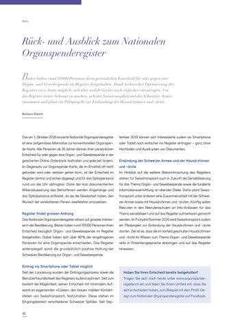 Page 16 of Prof. Dr. med. Walter Weder: der Schweizer Pionier der Lungentransplantation