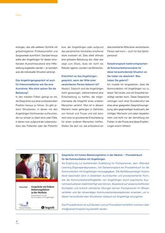 Page 6 of Ein Entscheid ohne Gewähr für die Familie
