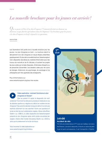 Page 12 of La nouvelle brochure pour les jeunes est arrivée!