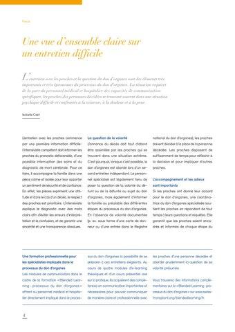 Page 4 of La volonté documentée soulage le personnel hospitalier
