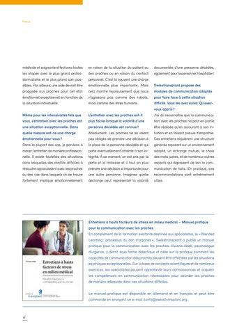 Page 6 of Une décision sans garantie pour la famille