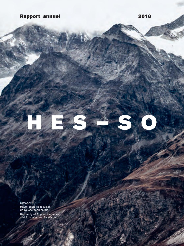 Anais Jeanneret Photo Lui rapport annuel hes-so 2018hes-so haute école spécialisée