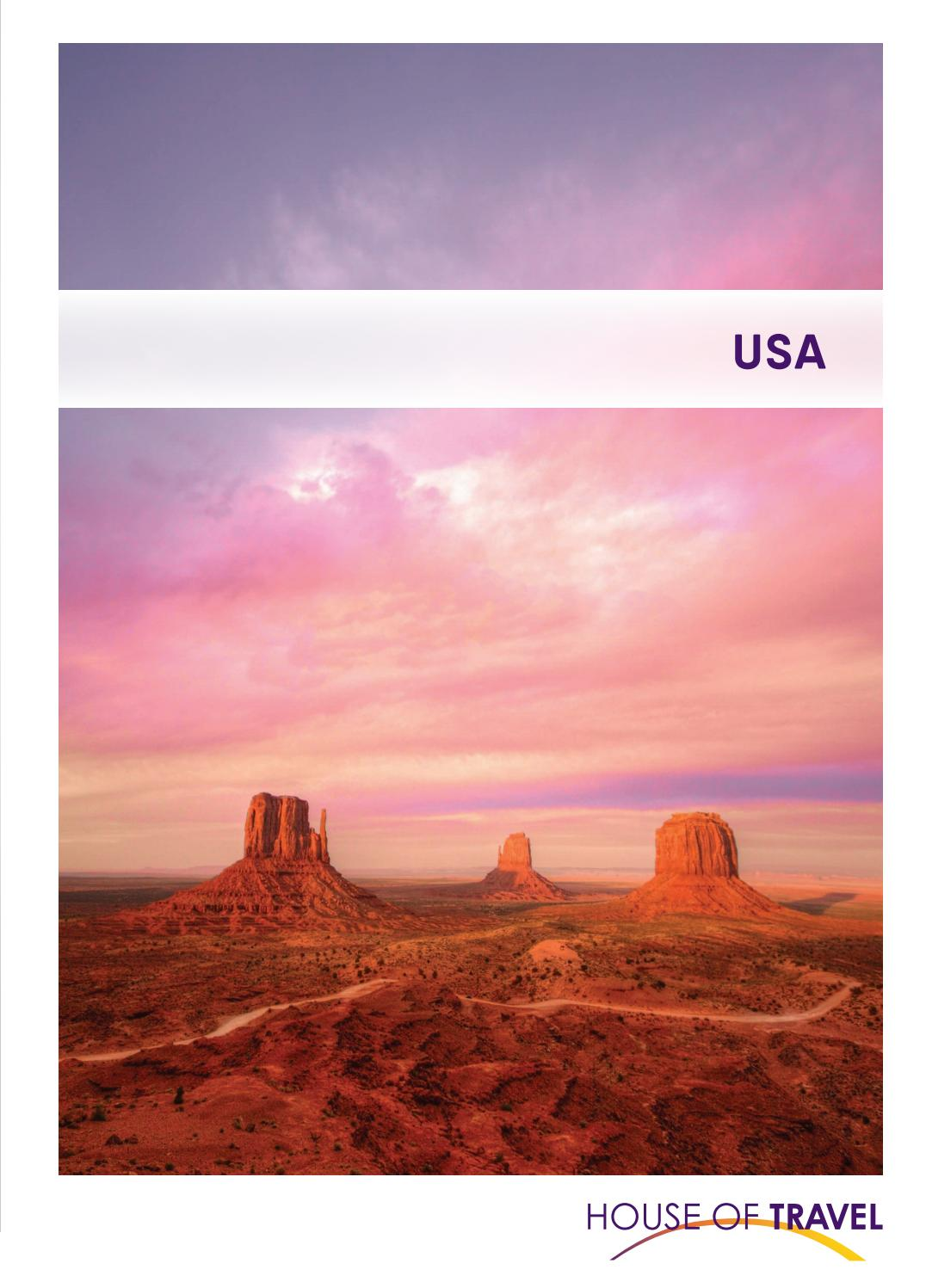 Usa Brochure 2020 By House Of Travel Issuu