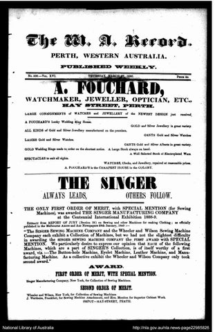 The Record Newspaper 27 March 1890 by The Record issuu