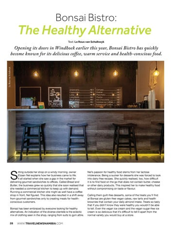 Page 30 of The Healthy Alternative: Bonsai Bistro