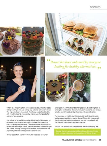 Page 31 of The Healthy Alternative: Bonsai Bistro