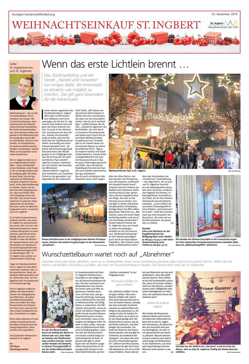Weihnachtseinkauf St. Ingbert | 2019 by Saarbrücker