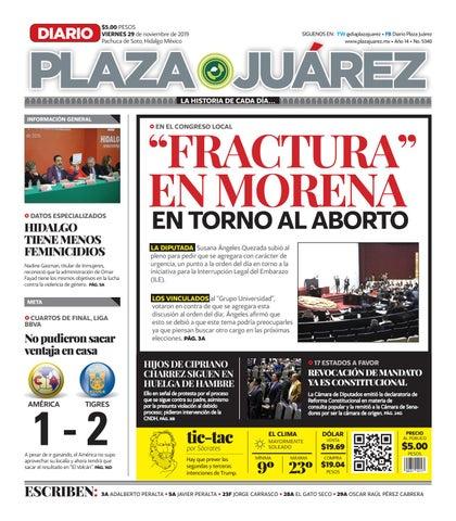 29 11 19 by Diario Plaza Juárez issuu