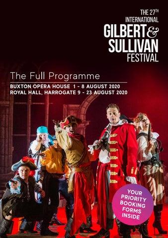27th Festival Newsletter By Gilbert Sullivan Festival Issuu