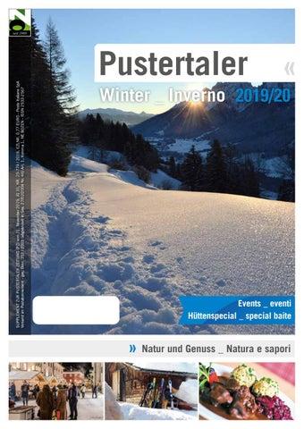 Pustertaler Winter_Inverno 2019 by Pustertaler Medien GmbH ...