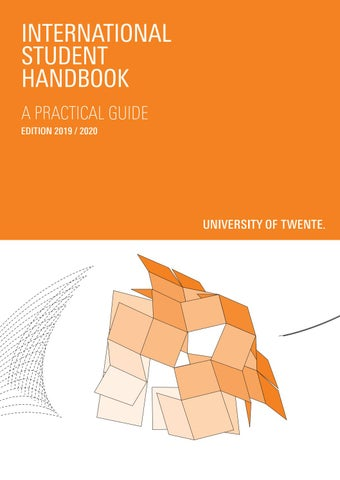 International Student Handbook by University of Twente - issuu